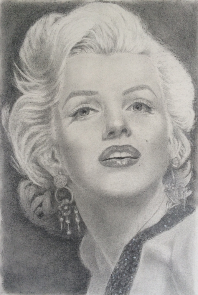 Marilyn Monroe by Shollis